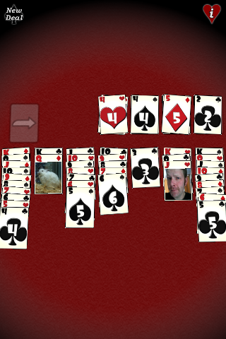 Screenshot my Face Solitaire