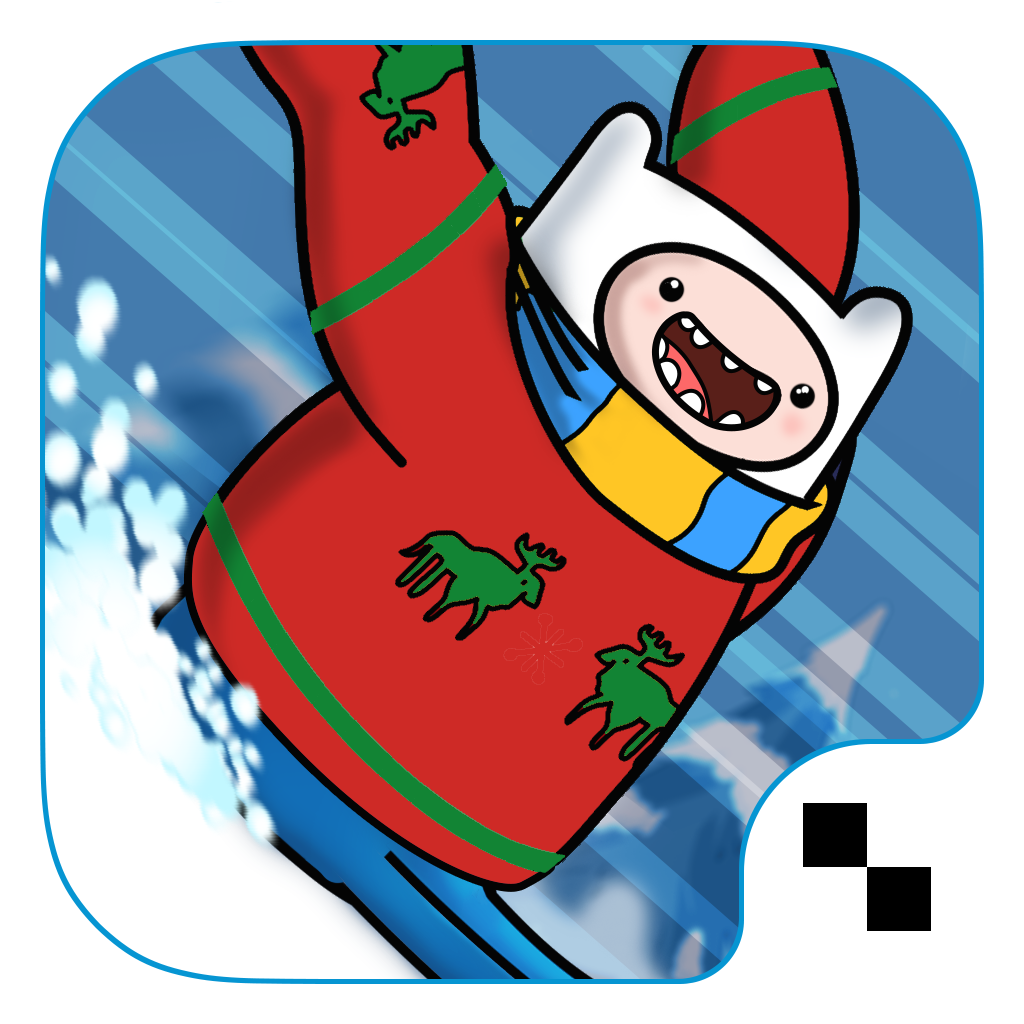 iPhone, iPad: »Ski Safari: Adventure Time«